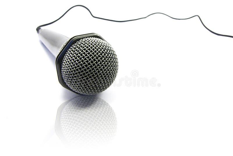 микрофон изоляции стоковое изображение