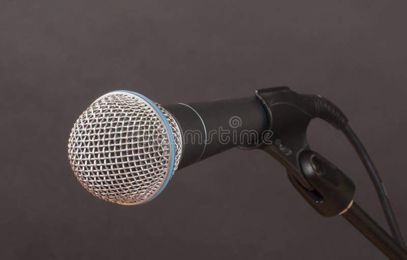 Микрофон на угле стоковое изображение rf