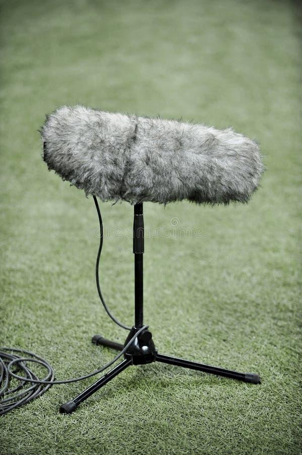 Микрофон профессионального спорта стоковое изображение