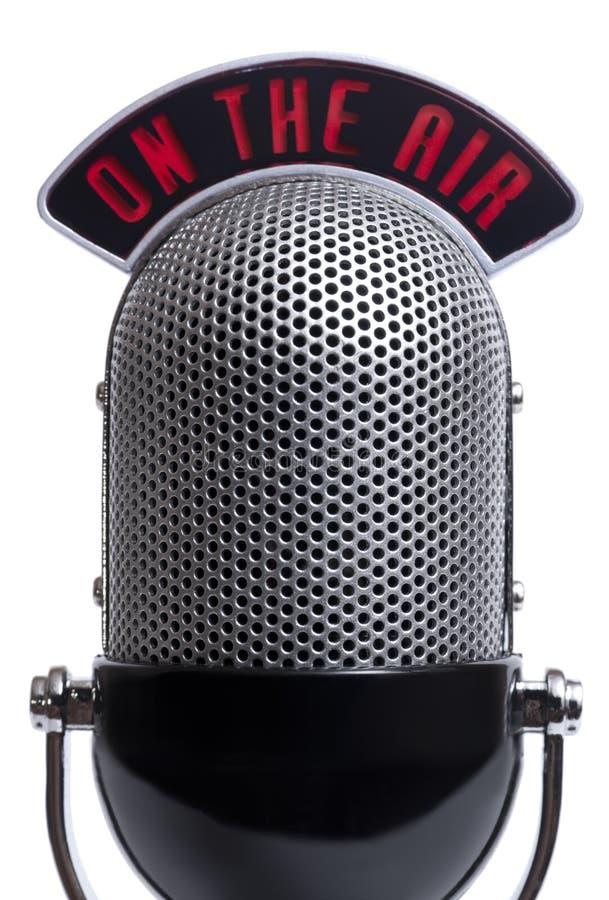 микрофон ретро стоковое изображение