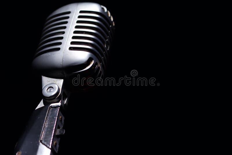 Микрофон сбора винограда стоковая фотография