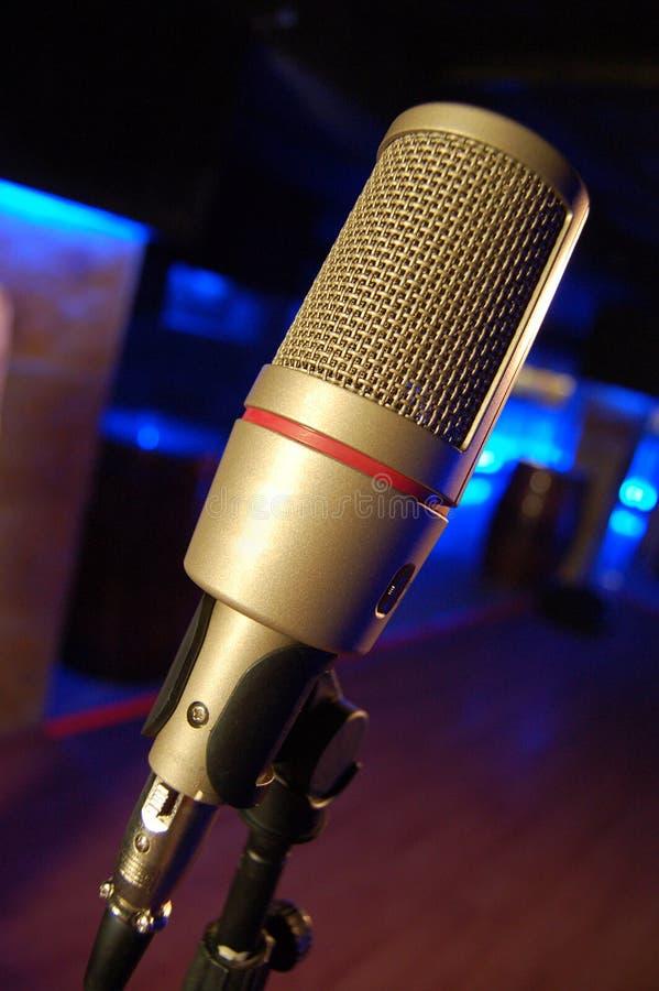микрофон штанги стоковая фотография