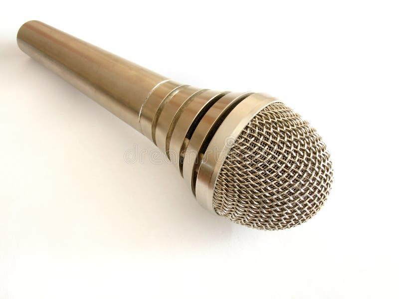 Download микрофон стоковое фото. изображение насчитывающей серебр - 487850