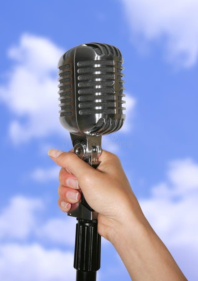 микрофон стоковое изображение