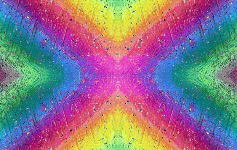 микро- мир радуги стоковое изображение rf