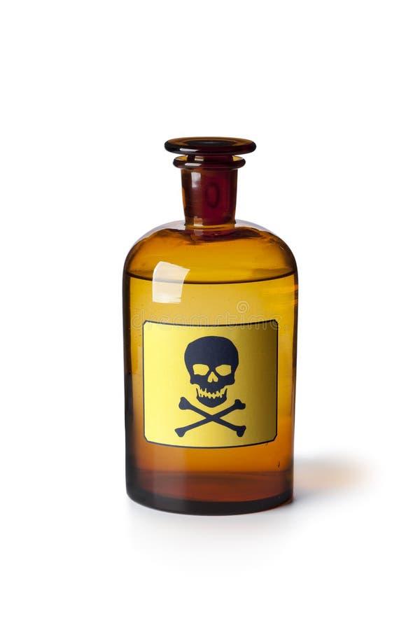 микстура бутылки жидкостная ядовитая стоковое фото