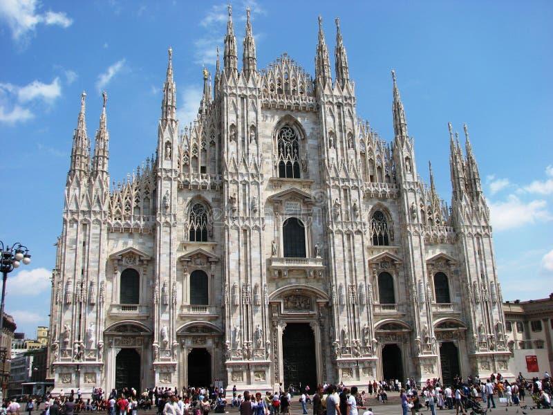 милан Италии купола собора стоковая фотография rf