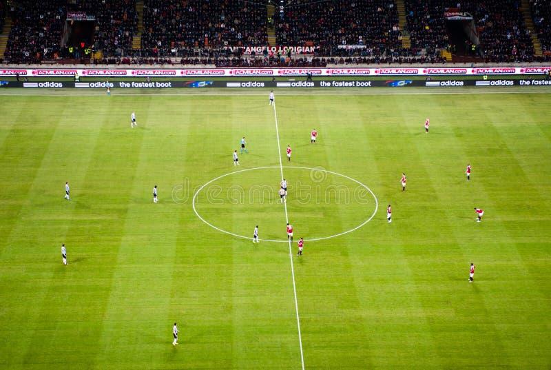 милан juventus футбольной игры ac итальянский стоковая фотография