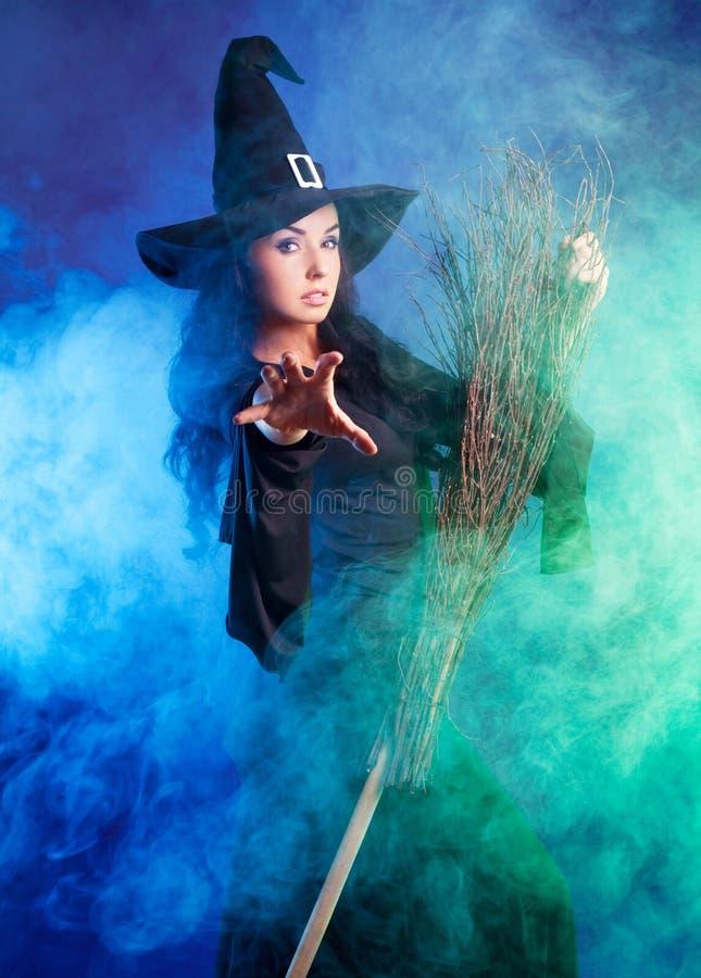 милая ведьма стоковые изображения rf