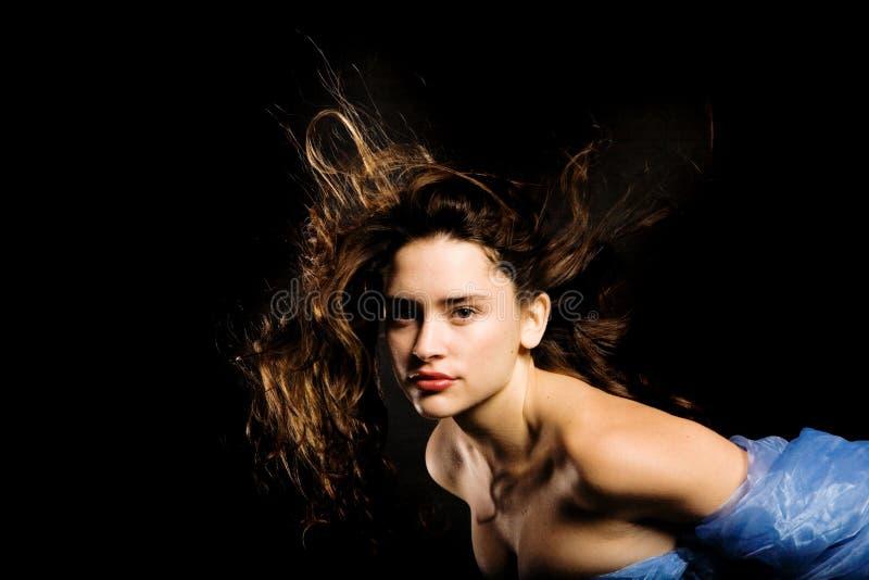 милая женщина стоковое изображение