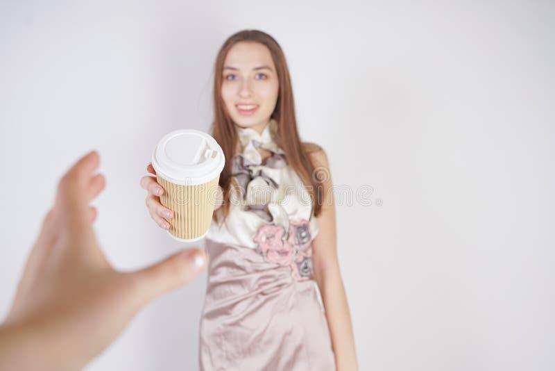 Милая предназначенная для подростков кавказская девушка в милом выра стоковое изображение