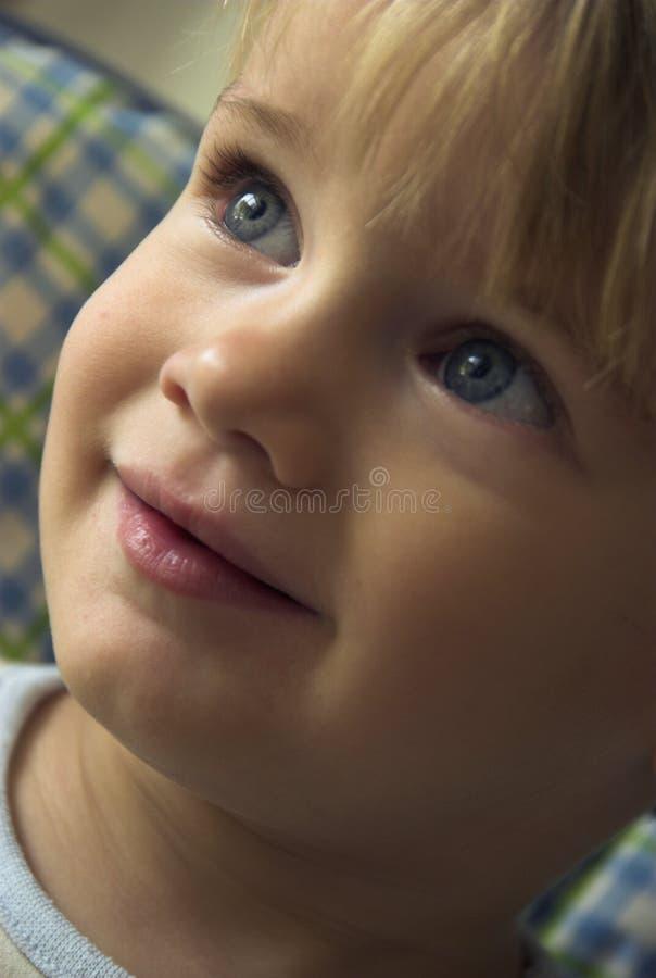 милая усмешка стоковое изображение