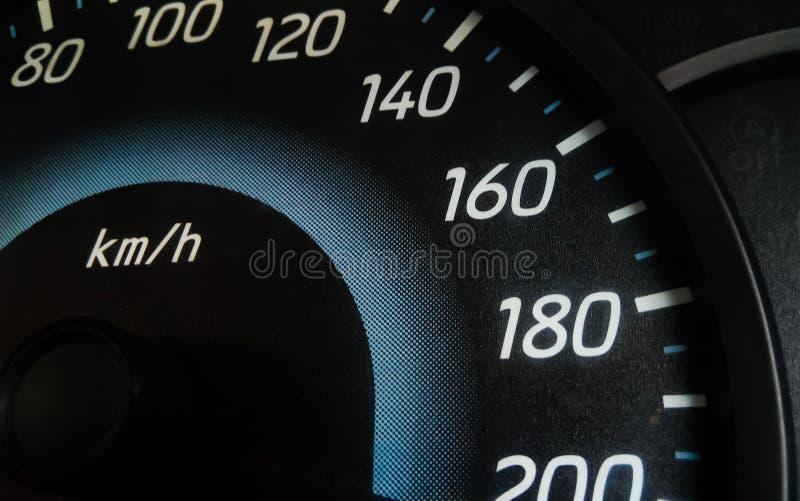 Мили автомобиля стоковое изображение rf
