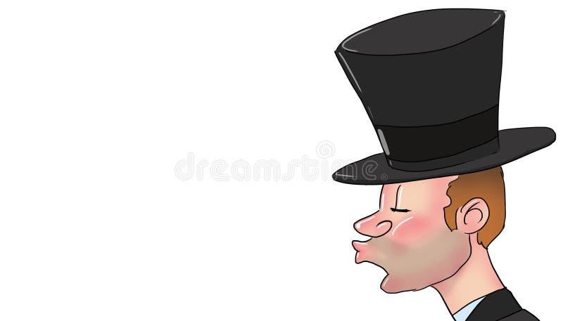 Миллионер, иллюстрация бесплатная иллюстрация