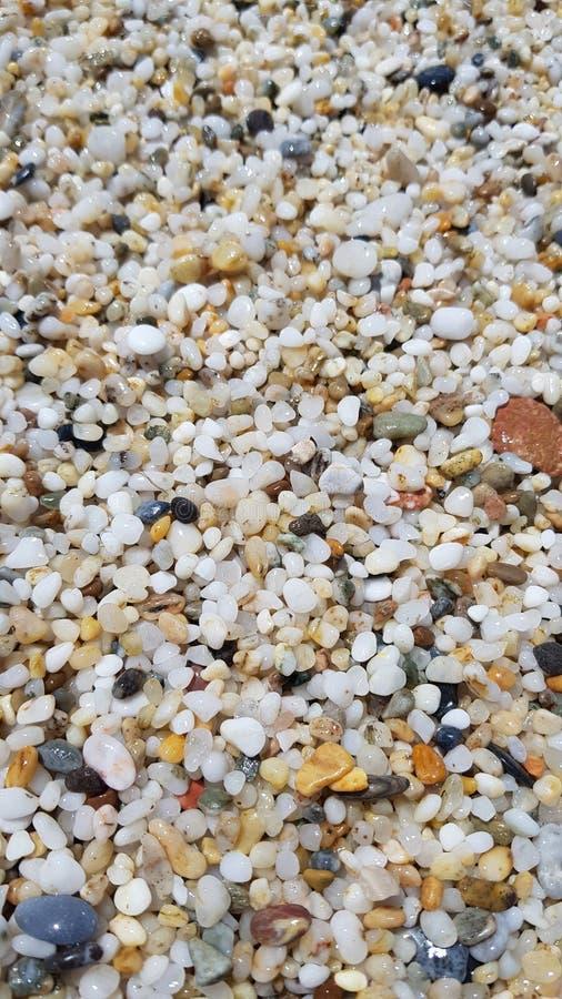 Миллион из камней пляжа стоковое фото rf