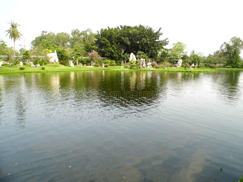 Миллион лет облицовывают парк около города Паттайя стоковая фотография rf