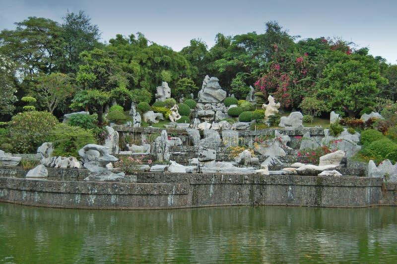 миллион лет парка каменных стоковая фотография