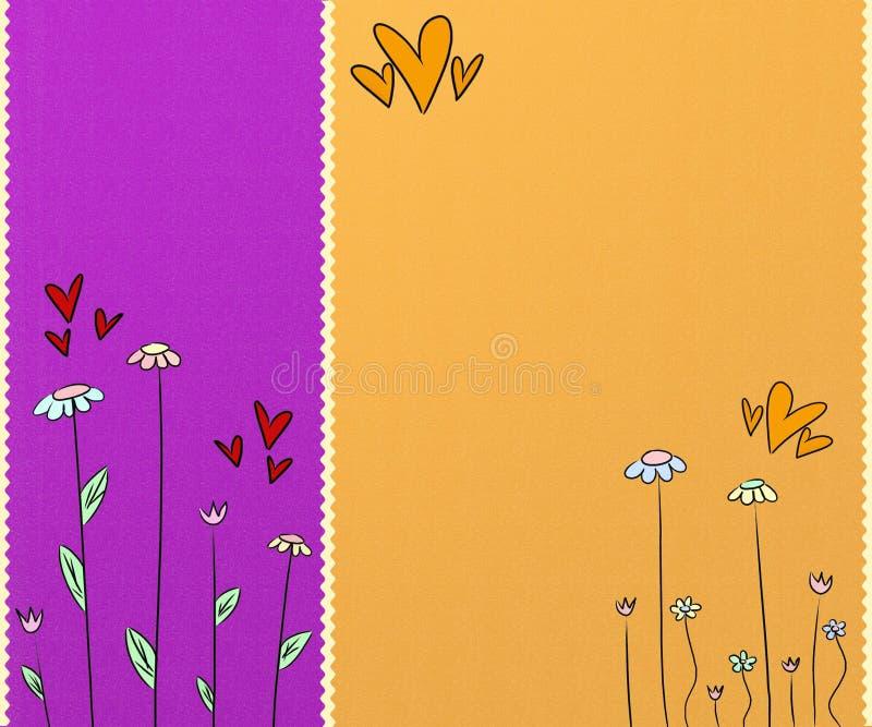 милое предпосылки цветастое иллюстрация вектора