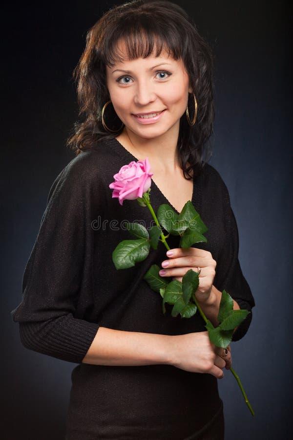 милые розовые детеныши женщины стоковые изображения