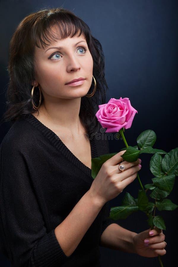 милые розовые детеныши женщины стоковое изображение