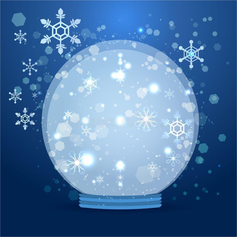 Милый глобус снега мультфильма бесплатная иллюстрация