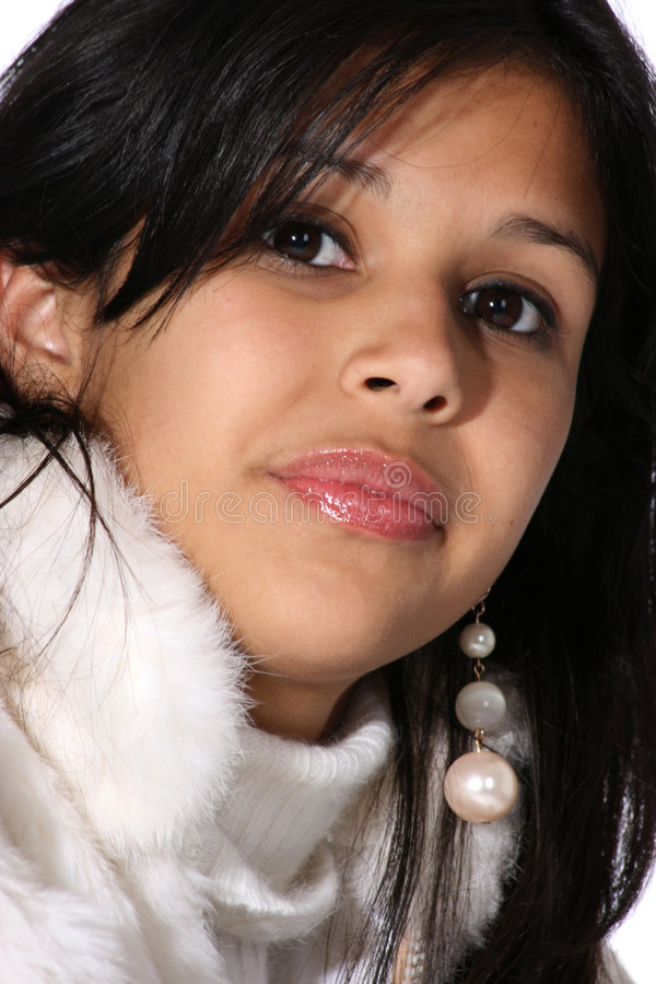 милый испанский подросток стоковая фотография