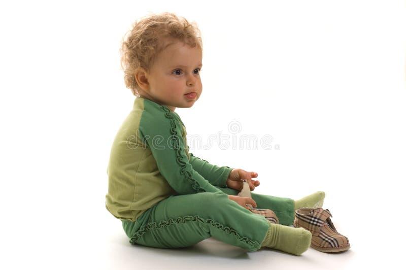 милый малыш девушки стоковые фото