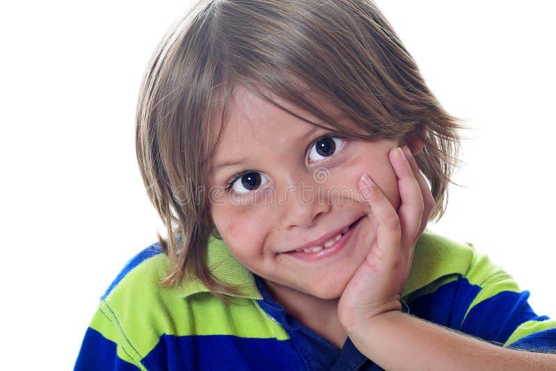 милый малыш супер стоковая фотография rf