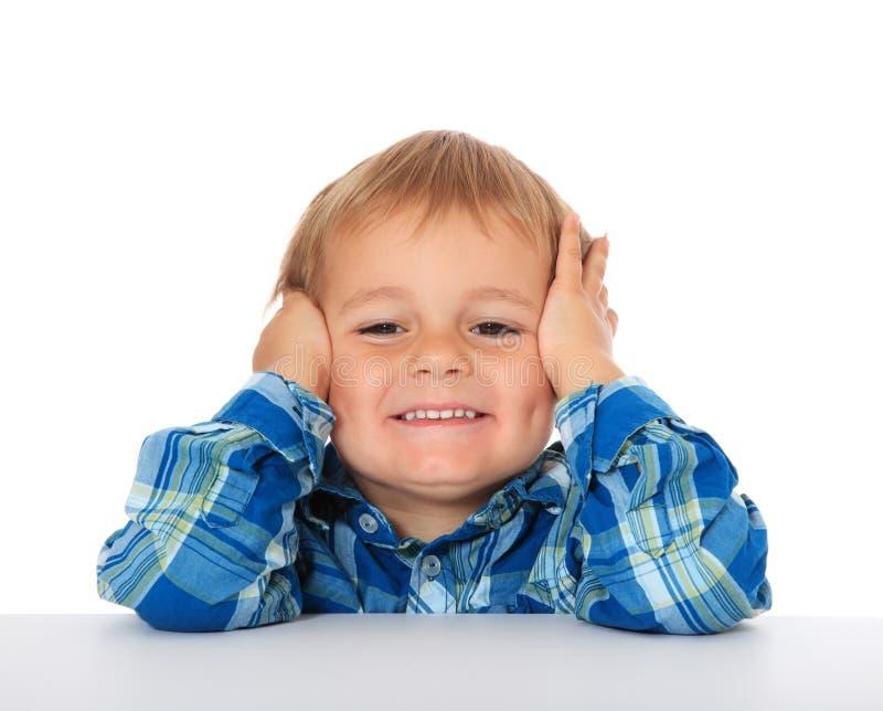 Милый мальчик стоковая фотография rf