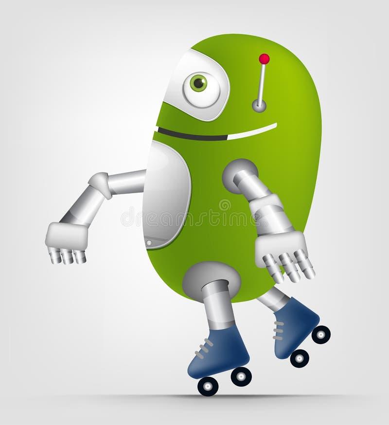 Милый робот бесплатная иллюстрация