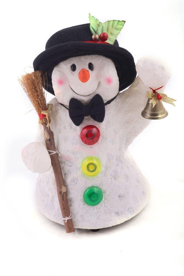 милый снеговик шлема стоковое изображение rf