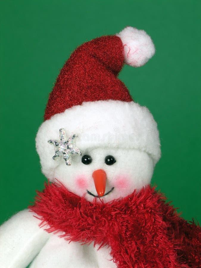 милый снежок человека стоковые изображения rf