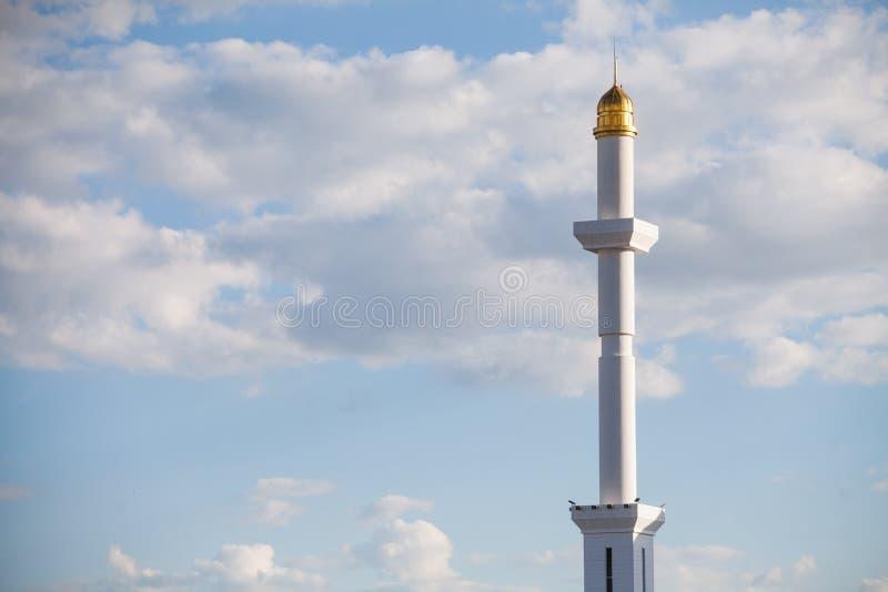 Минареты от мечети стоковая фотография