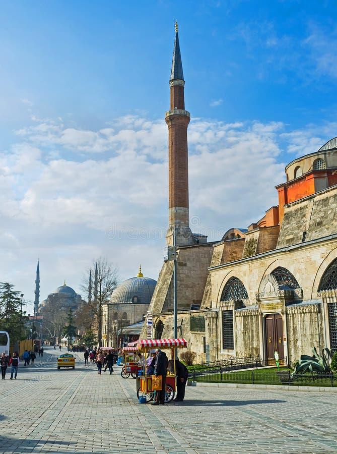 Минареты Стамбула стоковая фотография