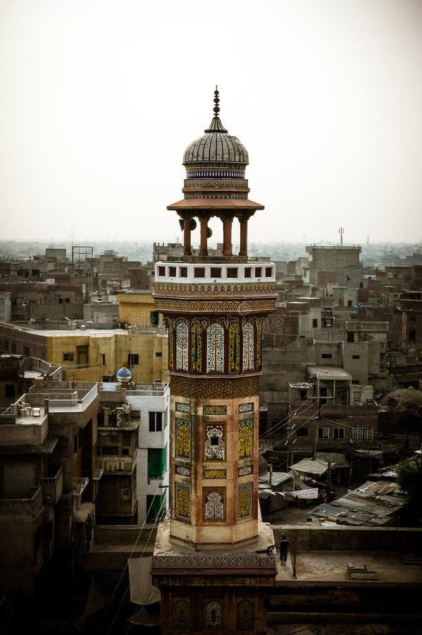 Минарет мечети стоковое изображение rf