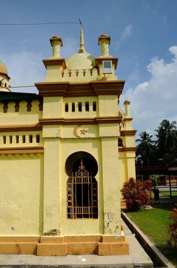 Минарет мечети Ala'eddin султана королевской в Banting стоковые фото