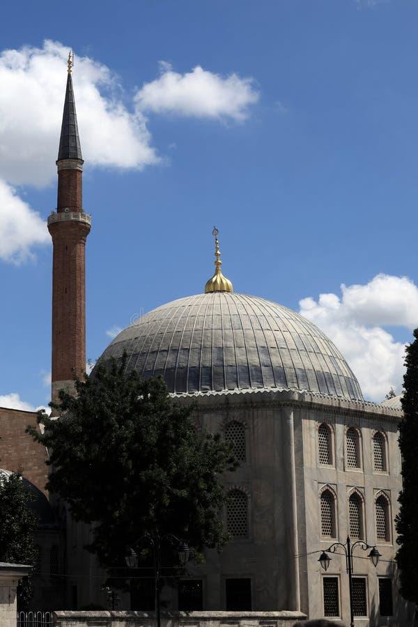 Минарет Hagia Sophia стоковые изображения