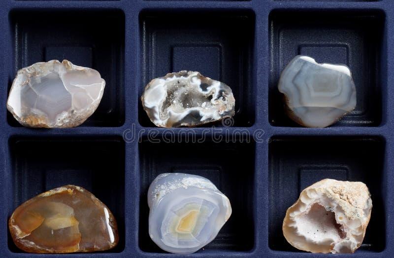 минералы собрания стоковые изображения