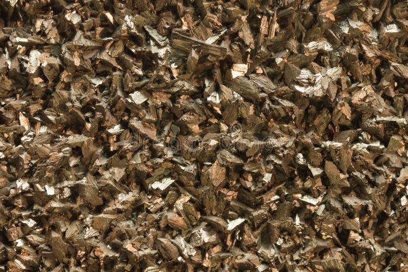 Минерал арсенопирита с кристаллическим строением и металлическим блеском стоковая фотография