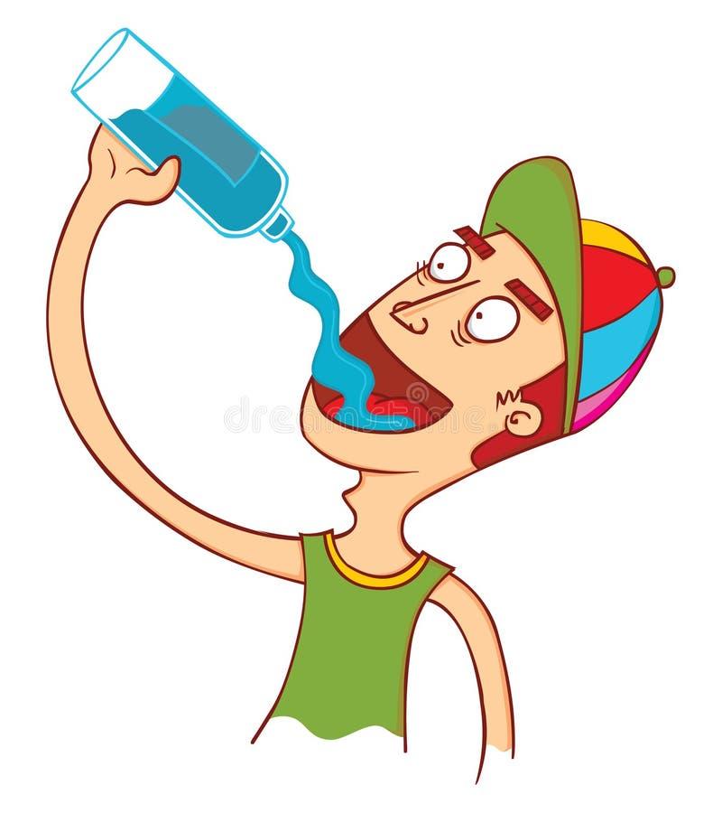 Download Минеральная вода хороша иллюстрация вектора. иллюстрации насчитывающей средств - 81805886