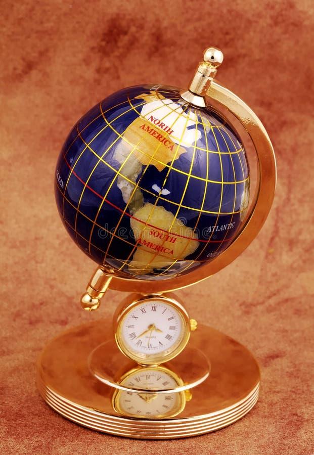 миниатюра глобуса стоковая фотография rf