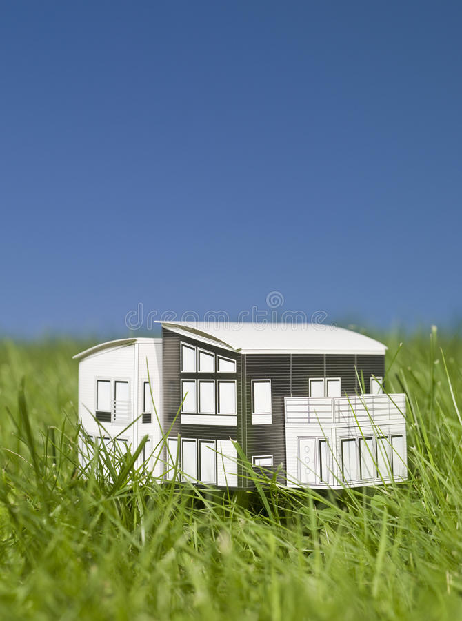 миниатюра дома стоковое фото