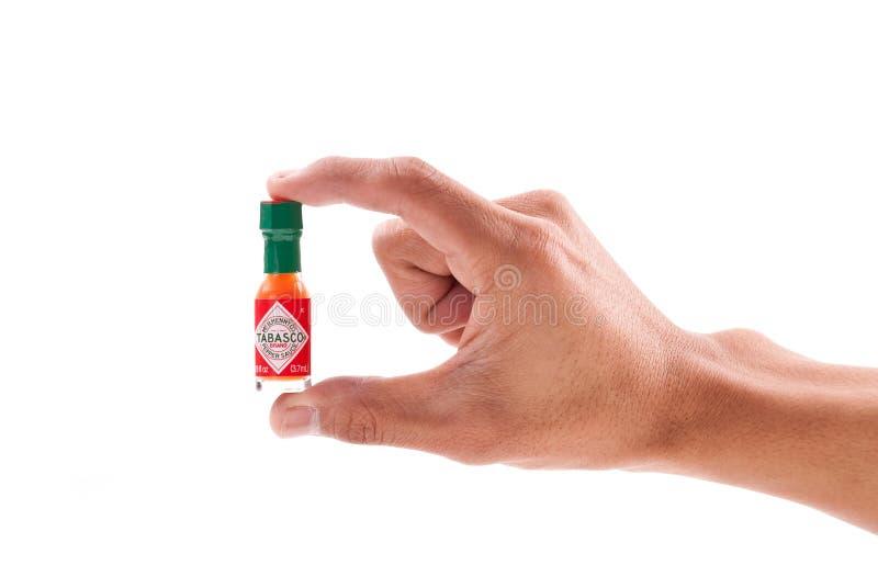 миниатюрное tabasco стоковые фото
