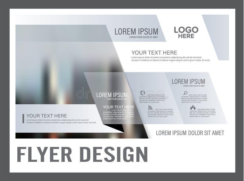Минимальный шаблон дизайна плана брошюры annuitant бесплатная иллюстрация