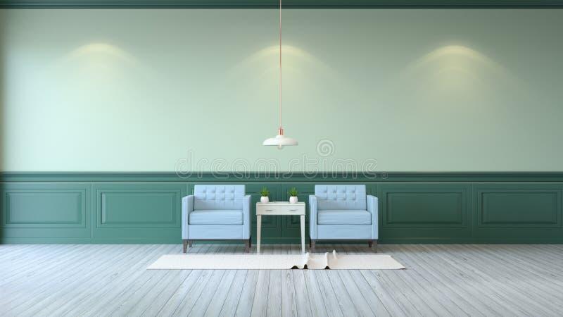 Минималистская комната иллюстрация штока
