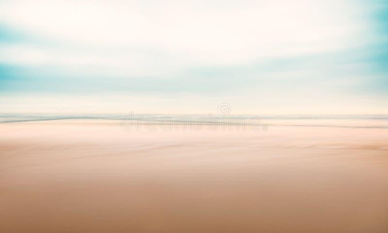 Минималистский абстрактный Seascape стоковые фотографии rf