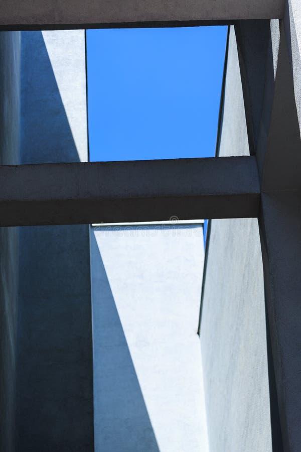 Минималистское городское здание scyscraper стоковая фотография