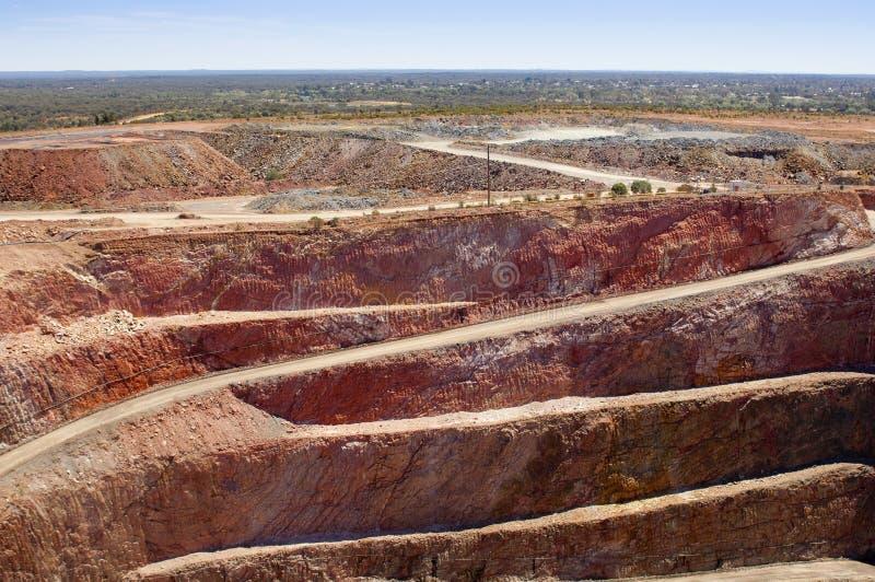 Минирование Австралия стоковая фотография rf