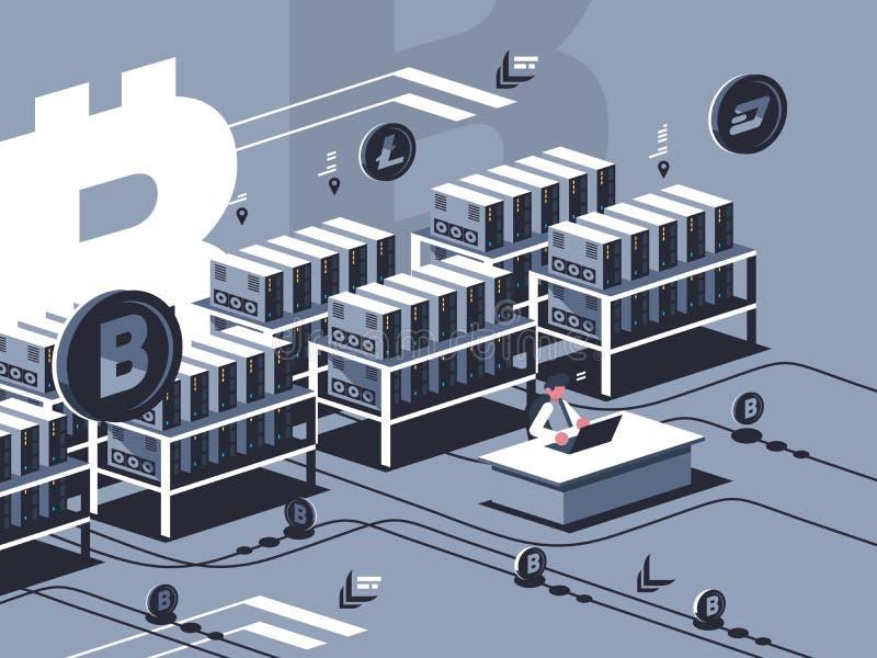 Минируя секретная валюта бесплатная иллюстрация