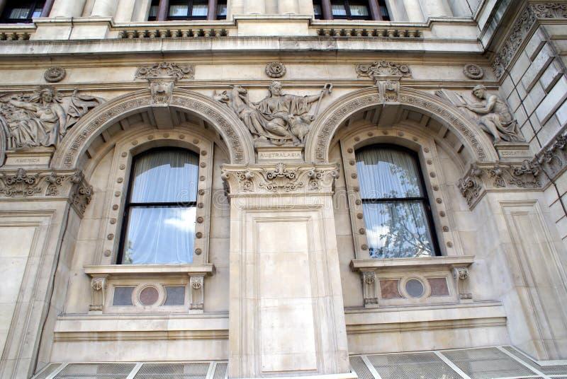 Министерство иностранных дел и по делам Содружества, Лондон, Англия стоковые фотографии rf
